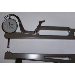 Compas d'épaisseur aluminium