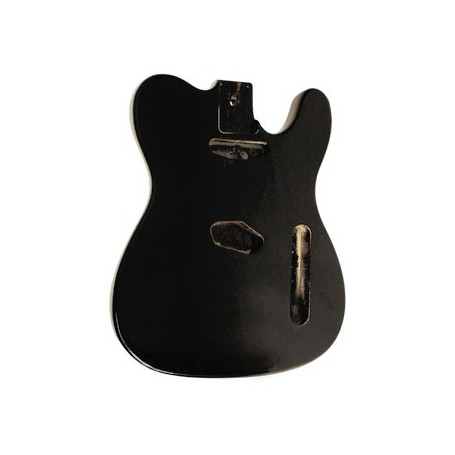 Guitar Body T-STYLE/BLACK