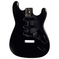 Guitar Body S-STYLE/BLACK