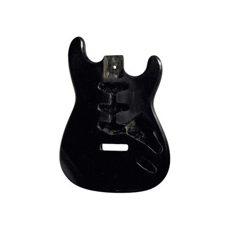 Guitar Body S-STYLE/BLACK