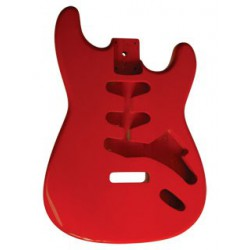 Corps Guitare S-STYLE/ROUGE