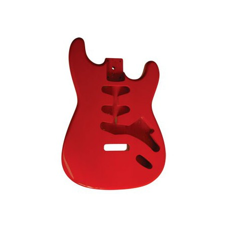 Guitar Body S-STYLE/RED