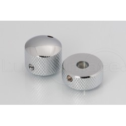Bouton NOLLelectronic double chrome