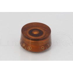 Bouton 'speed knob' type LP Ambre