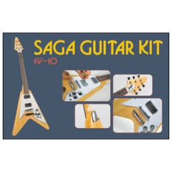 KIT Guitare SAGA Style FlyingV