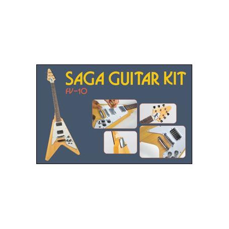 Flying V Guitar Kit SAGA