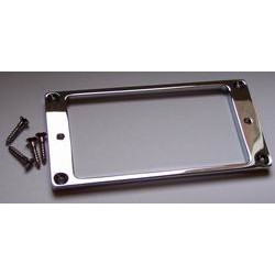 Flat Neck Pickup Surround Chrome