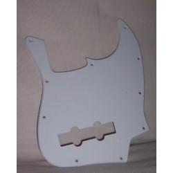 Pickguard JazzBass style White