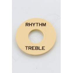 "plaque ""rhythm treble"" Les Paul Ivory"