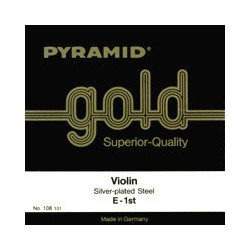 Cordes PYRAMID Violon Pure Nickel filet plat/Acier