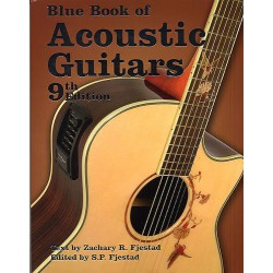BLUE BOOK ACOUSTIC GUITARS 9EME ED
