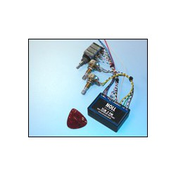 TCM 3 PM avec 1 volume (push-pull)/1 basse/ 1 médium/ 1 mid freq