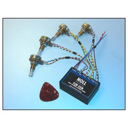 TCM 4XM avec 1 volume (push-pull)/1 basse/1 low mid/ 1 high mid/