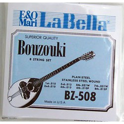 LaBella 8 strings Bousouki set