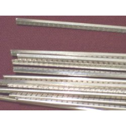 Set of 12% nickel silver frets 3 mm wide