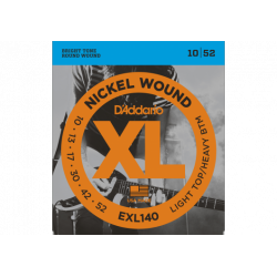 D'ADDARIO ELECTRIC GUITAR STRINGS 10-52- 10 SETS