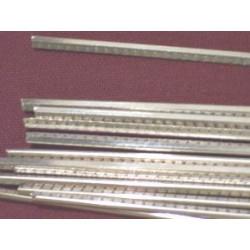 Set of 18% nickel silver frets 2,15 mm wide