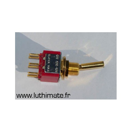 Mini Switch ON-ON Gold