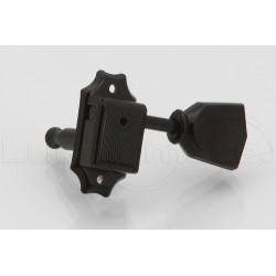 Jeu Mécaniques Style Kluson 3x3 Black