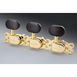 SCHALLER MECANIQUE Type SELMER Gold bouton ébène