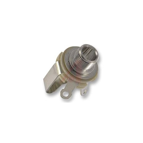 SWITCHCRAFT Jack 3 pole nickel 6.3mm