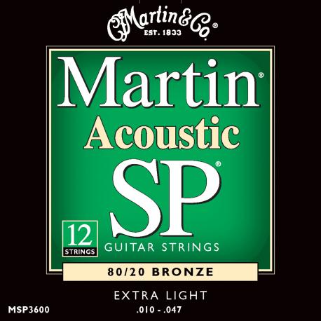 Martin SP Bronze 12c XLT 10/47