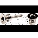 DUNLOP Strap Lock nickel (la paire)
