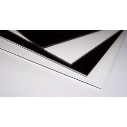 Plaque Noire 4plis N/B/N/B 300x290 mm