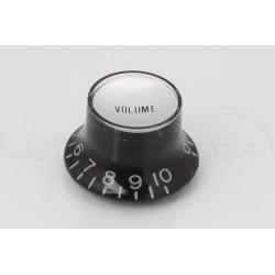 Bouton type SG 'Bell' Volume Noir