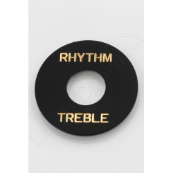 "plaque ""rhythm treble"" Les Paul"