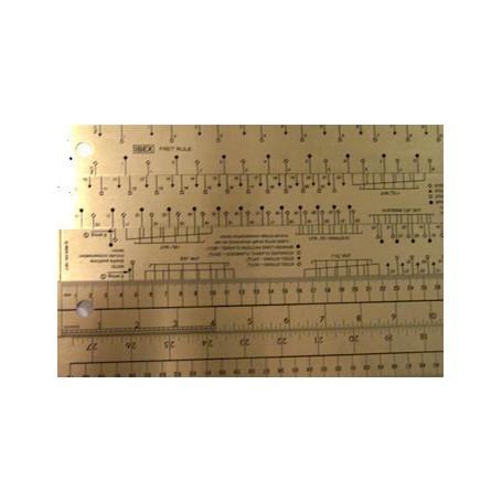 Fret rule 4 basic fret scales