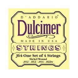 CORDES DULCIMER D'ADDARIO 012-022
