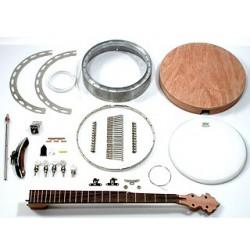 Bound resonator banjo kit
