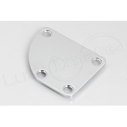 Plaque Fixation Manche Chrome