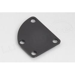 Neck Plate Black