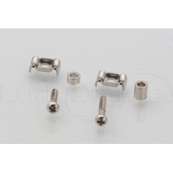 """GOTOH Guitar string retainer """"butterfly"""" Nickel"""