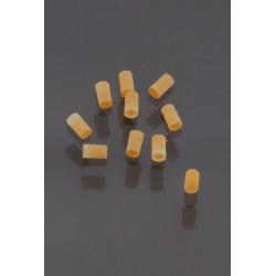 2 mm GOLD plastic Pearl Dot Inlay (10 pieces)