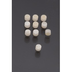 10 SIDE DOTS IMITATION NACRE 4mm