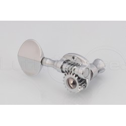 Bass Tuner set 2x2 chrome