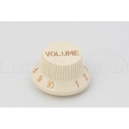 Bouton Style Strat 'Volume' crème
