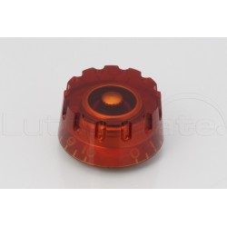 Bouton 'new speed knob' type LP Ambre