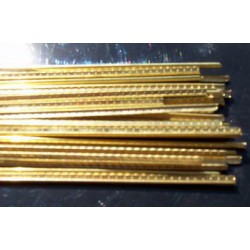 Set of Special bronze fretwire 3 mm wide
