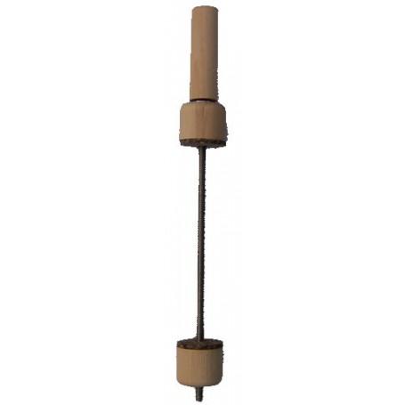 Serre-joint à vis protégé par du liège avec manche pour violonce