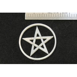 Inlay MOP Pentagram