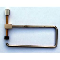 """F-Hole clamp 4"""""""