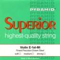 PYRAMID Superior 3/4 Violin strings Pure Nickel
