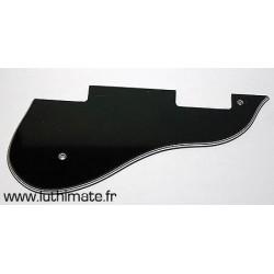 ES Style Pickguard 4 plys Black