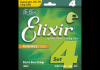 ELIXIR Nanoweb 4 strings .040/.095